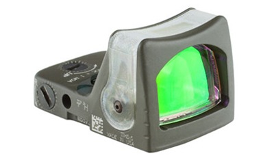 Trijicon RMR® Dual Illuminated Sight - 12.9 MOA Amber Triangle-CK-ODG RM08-C-700257 RM08-C-700257