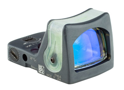 Trijicon RMR® Dual Illuminated Sight -9.0 MOA Amber Dot-CK-Sniper Gray RM05-C-700187 RM05-C-700187