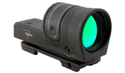 Trijicon 1x42 Reflex, Amber 4.5 MOA Dot Reticle, Reflex Base (with RX23 A.R.M.S.® #15 Throw Lever Fl 800047