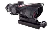 Trijicon ACOG 4x32 Scope, Dual Illuminated Red Crosshair 300 BLK Reticle w/ TA51 Mount 100411