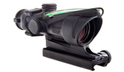 Trijicon ACOG 4x32 Scope, Dual Illuminated Green Crosshair 300 BLK Reticle w/ TA51 Mount