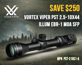 Save $250 on Vortex Viper PST-210S1-A