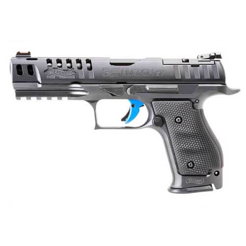 Walther Arms PPQ M2 Q5 MATCH SF 9mm 15 round Steel Frame Pistol w/ 3 mags  2830001