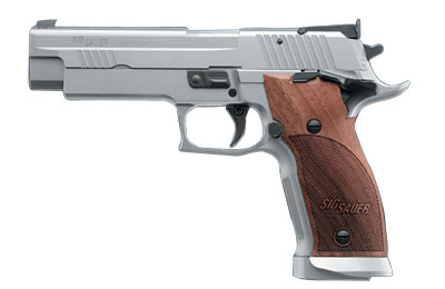 P226 L1, Adjustable SAO Trigger, Adjustable Target Sights, Ambi Safety, Magazine Well, Nill Wood Gri 226X5-9-L1