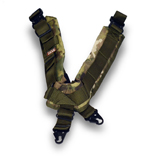 TAB Elite Biathlon Sling with Hooks - Multicam