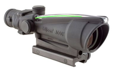 TA11J-G ACOG 3.5x35 Dual Illum Green Crosshair .223 Ballistic Reticle w/TA51 Mount like new demo TA11J-G