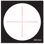 Nightforce Mil-Dot Reticle