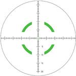 Trijicon Sgmntd Circle Green MIL Reticle