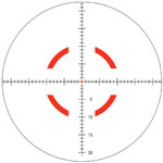 Trijicon Sgmntd Circle Red MIL Reticle
